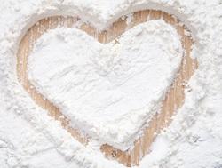 Mehl mit Herz