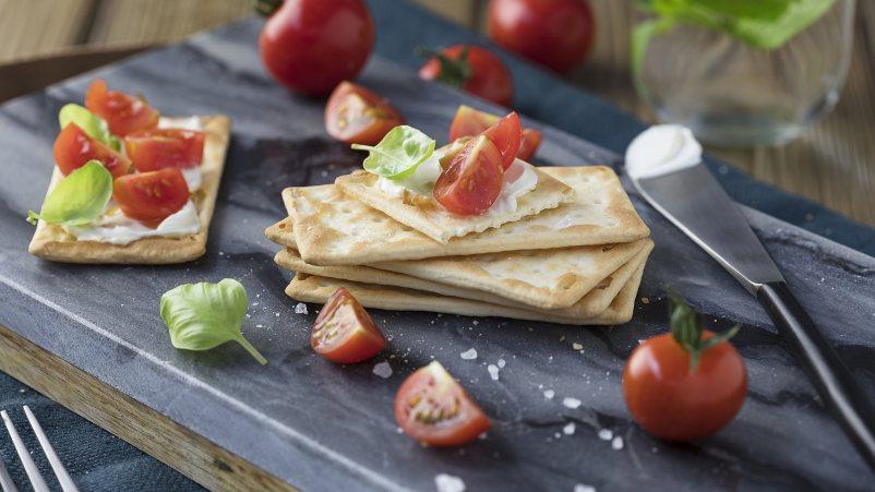 Brezglutenske hrustljave ploščice – Crackers