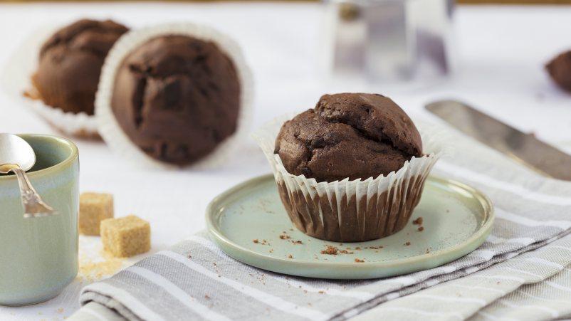 Brezglutenski čokoladni mafini – Muffins Choco