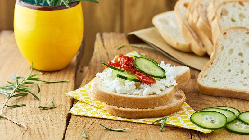 Brezglutenski beli kruh – Pan Blanco