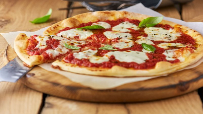 Pizza Margherita Lactose Free