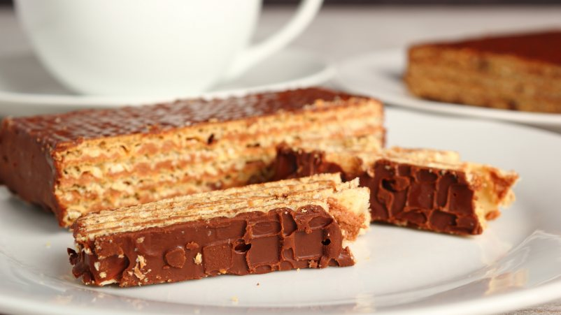 Brezglutenske napolitanke s temno čokolado – Quadritos