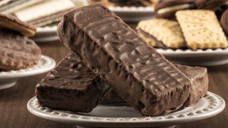 Brezglutenske napolitanke s čokoladnim prelivom – Snack