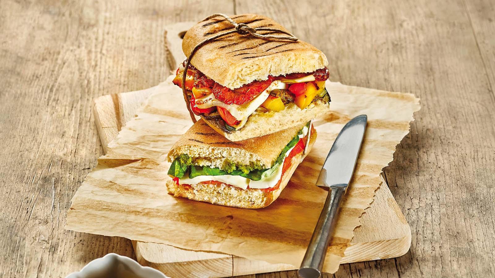 Brezglutenski panini kruhki – Panini Rolls