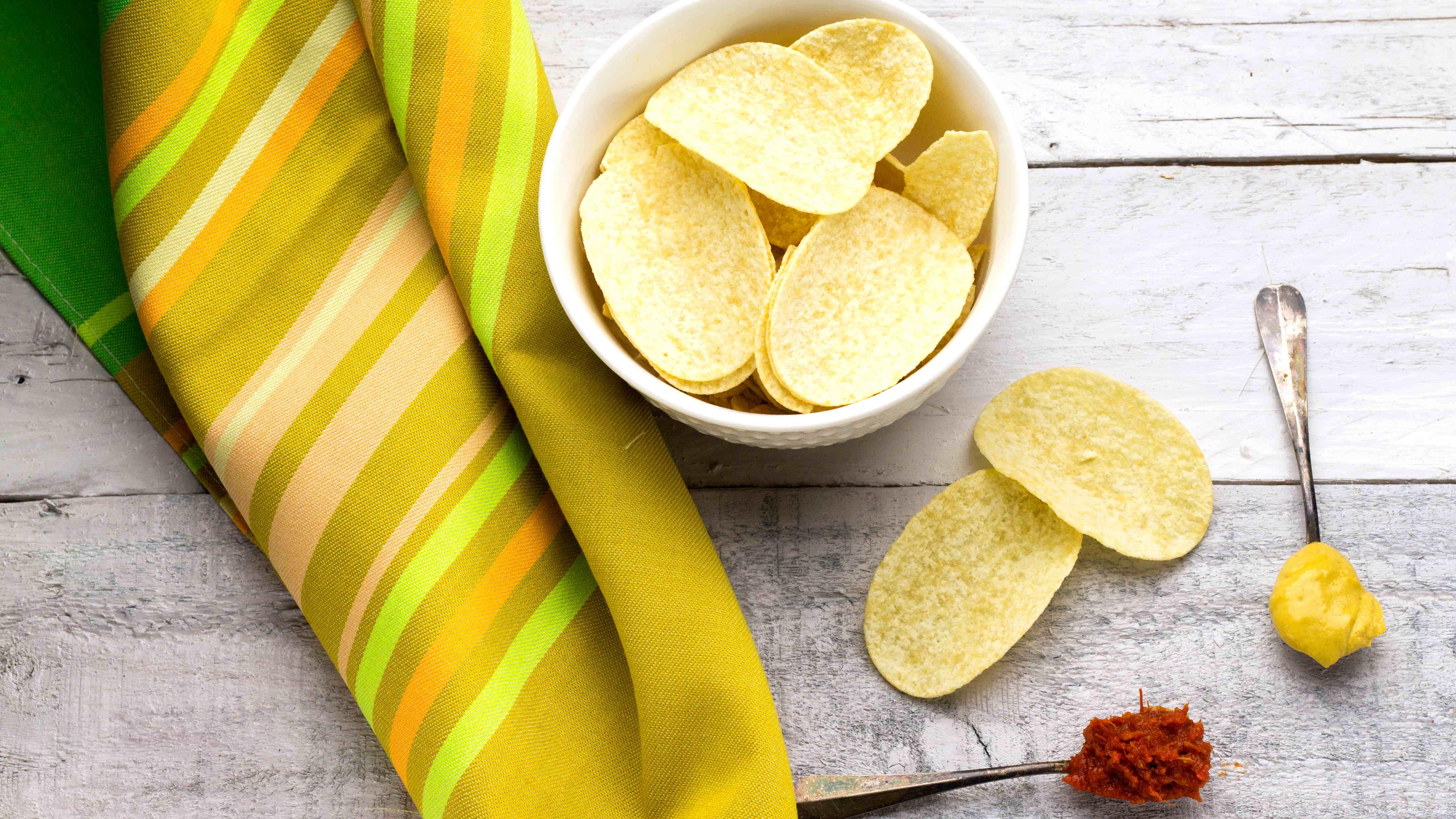 Brezglutenski krompirjev čips - Curvies Original