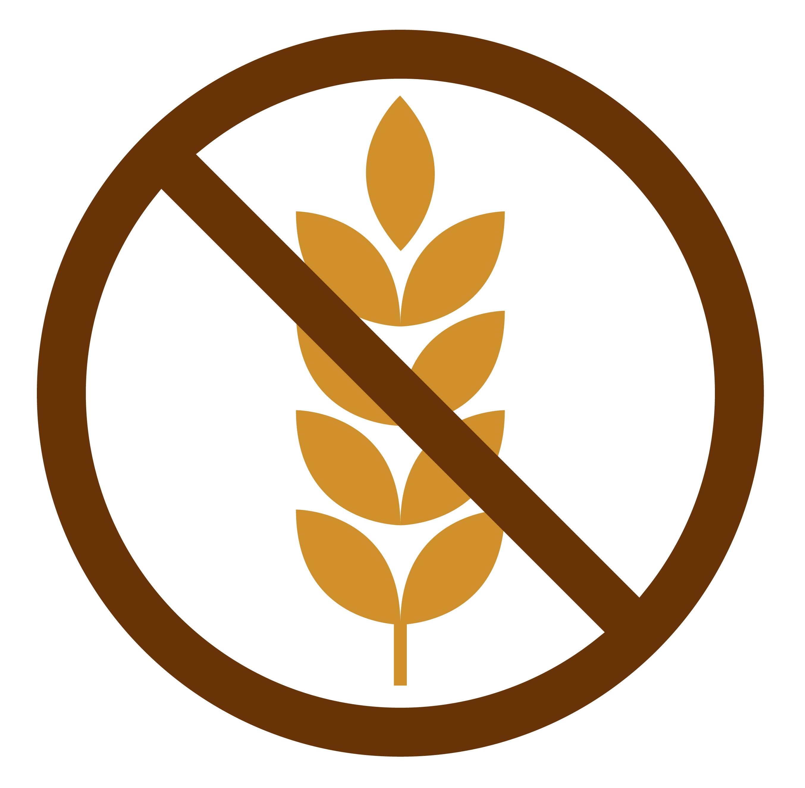 Znak, ki opozarja, da v določenem živilu ni glutena