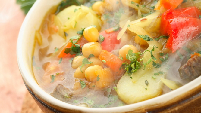 Jesenska čičerikina juha